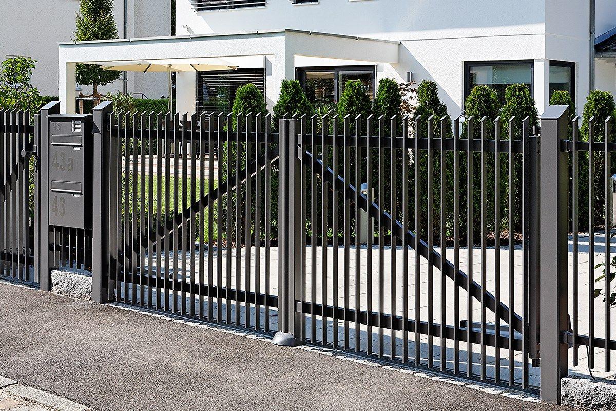 Fence Detroit Zaunzar Alu Zaun Hinterhof Haus Vorgarten Zaun