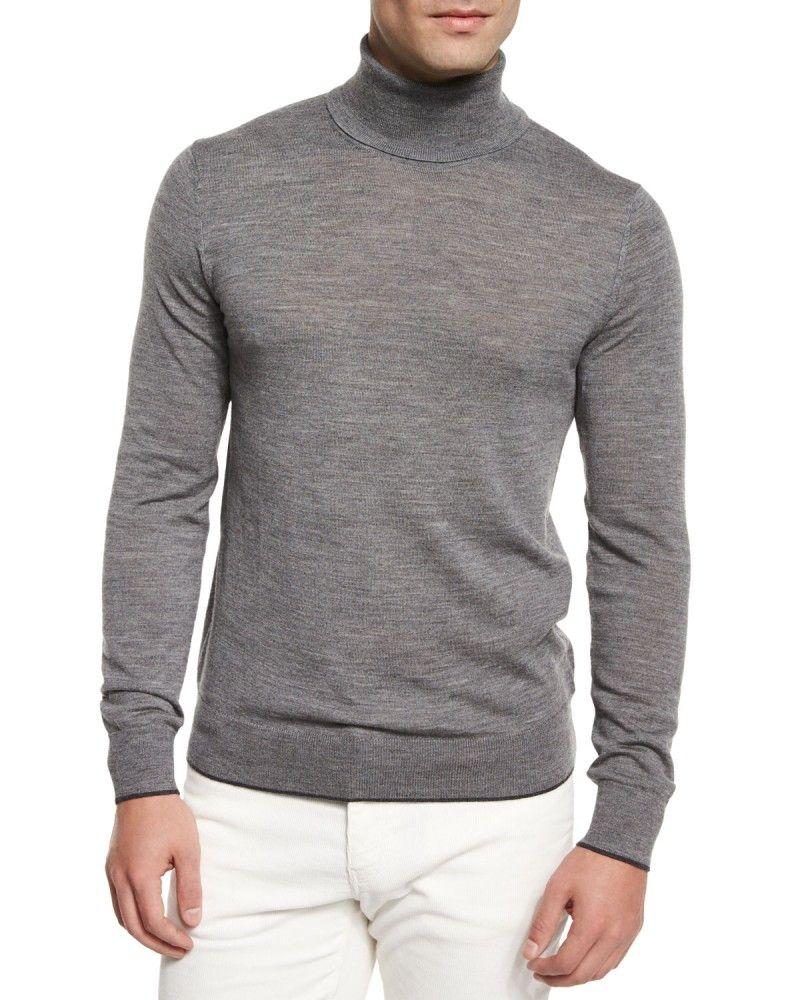 Men's Turtleneck Sweaters: Channel Your Inner Chic | Mens turtleneck