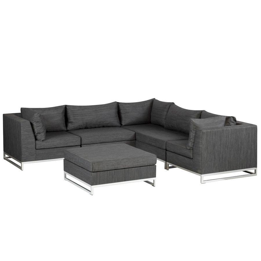 Garten Und Terrassenmöbel details zu exotan ibiza garten lounge sitzgruppe 6 teile schwarz