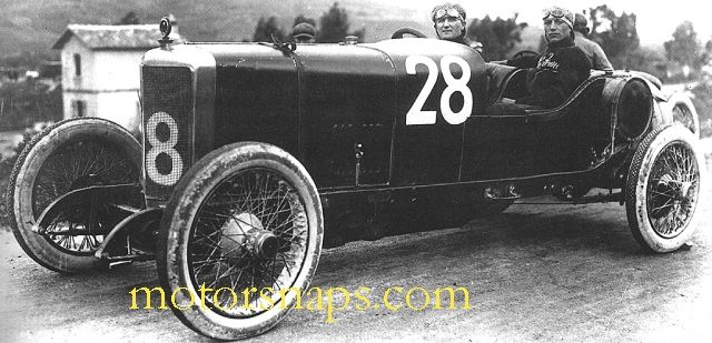 Targa Florio 1922 Alfa Romeo Rl 28 Alfa Corse Driver Augusto