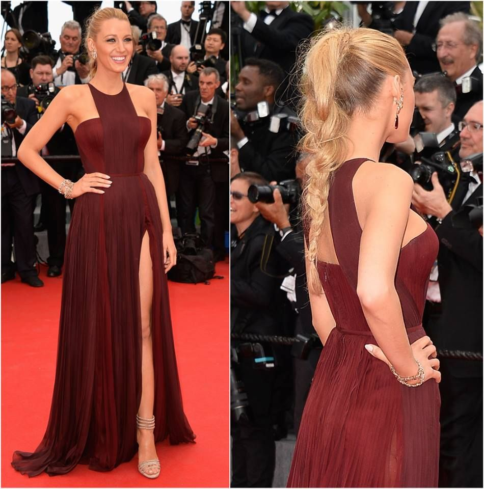 Pin by luiza moura on vestidos pinterest blake lively cannes