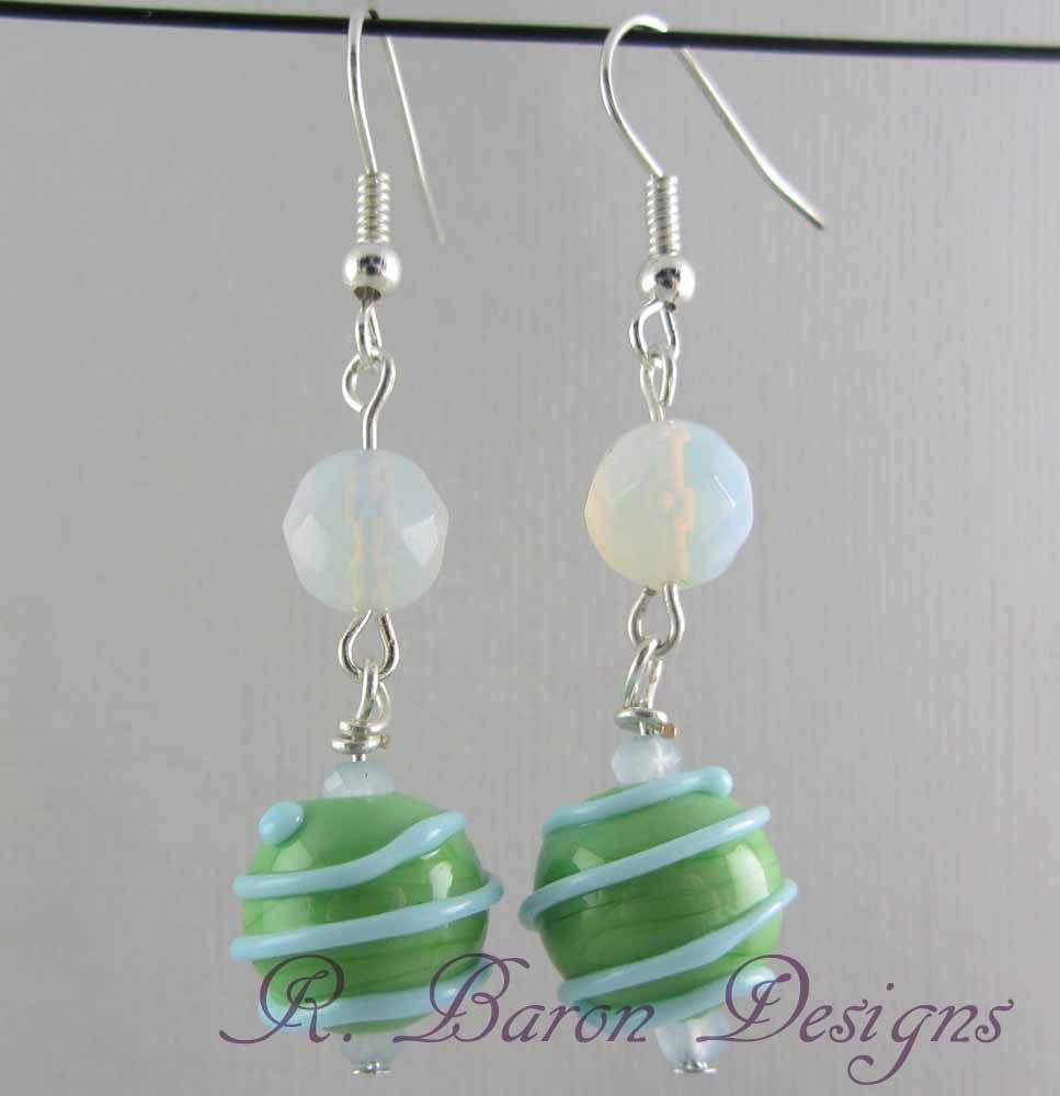 Arte Bella Surplus Coming Up Green With Lampwork Beads From Something New 4 You