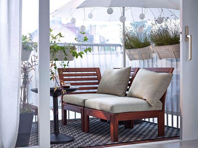 5 astuces pour un balcon canon terrasse terrace. Black Bedroom Furniture Sets. Home Design Ideas