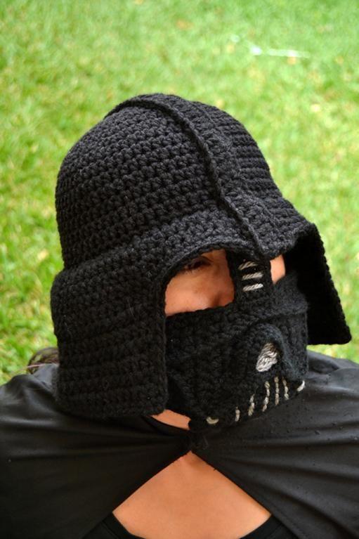 Darth Vader Crochet Hat for Adults | Pinterest | Hüte, Mütze und Kostüm