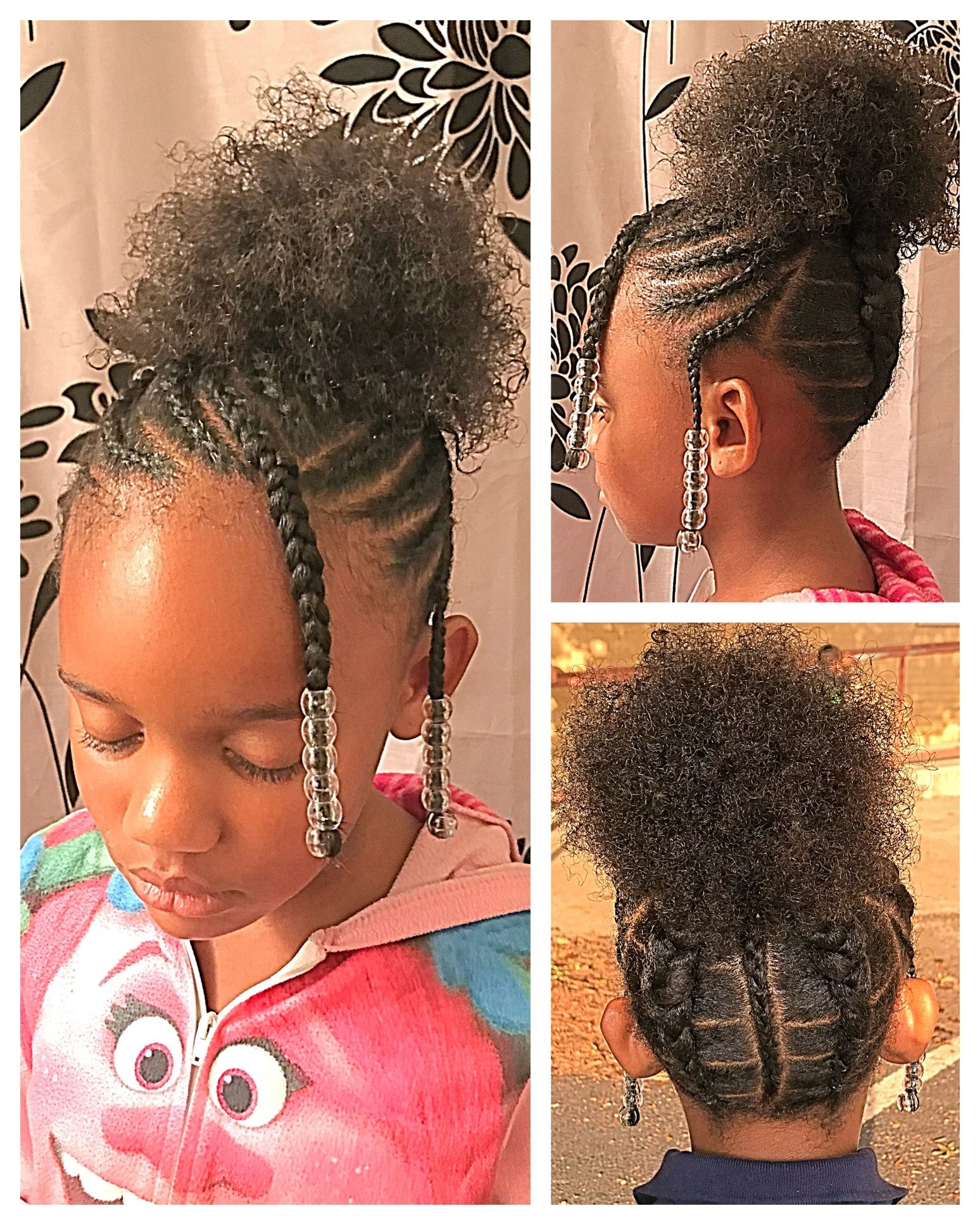 Pin By Mattie Branch On Hair Natural Hairstyles For Kids Kids