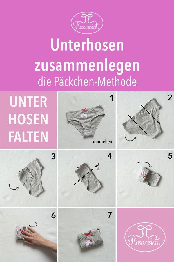 Photo of Ordnung im Kleiderschrank – platzsparend Kleidung zusammenlegen – Rosanisiert