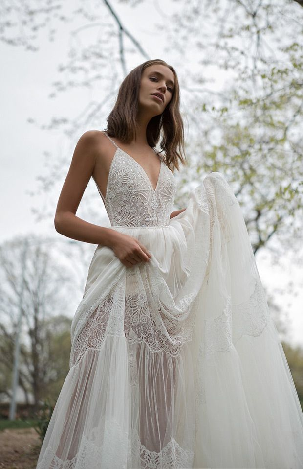 Wearable Intrigue: Flora Wedding Dress 2018 Collection