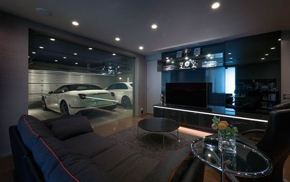 30 Graceful Car Garage Design Ideas For Your Home Luxury House