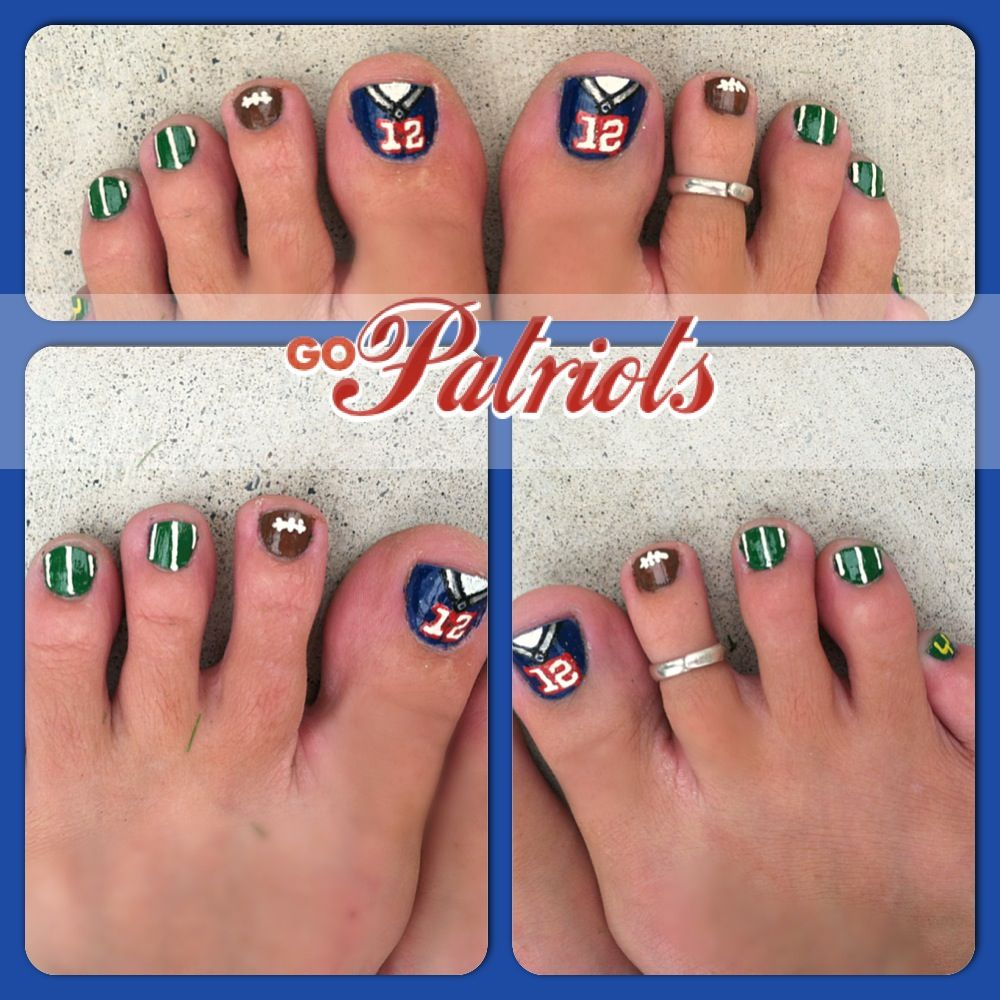 patriots nails   Patriots Nails   Pinterest   Patriots, Football ...