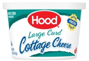 Large Curd Cottage Cheese 110 Calories For 1 2 Cup Cottage Cheese Curd Cheese