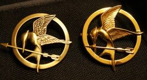 Mocking Jay Pin - Let the Hunger Games Begin