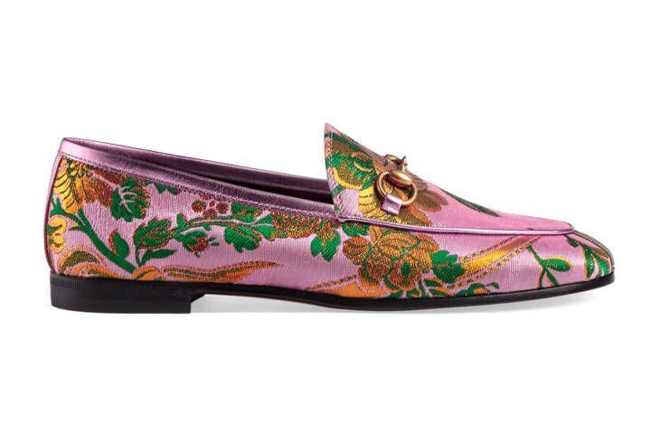 Gucci Jordaan floral jacquard loafer  eaad00357