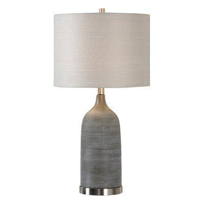 Ivy bronx blevins 28 5 table lamp wayfair