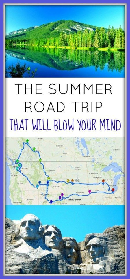 the road trips to end all road trips across america through 12 us states and 1 canadian province hiking in 11 national parks