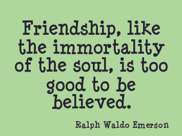 Ralph Waldo Emerson Quotes New Ralph Waldo Emerson Quotes On Friendship  Ralph Waldo Emerson