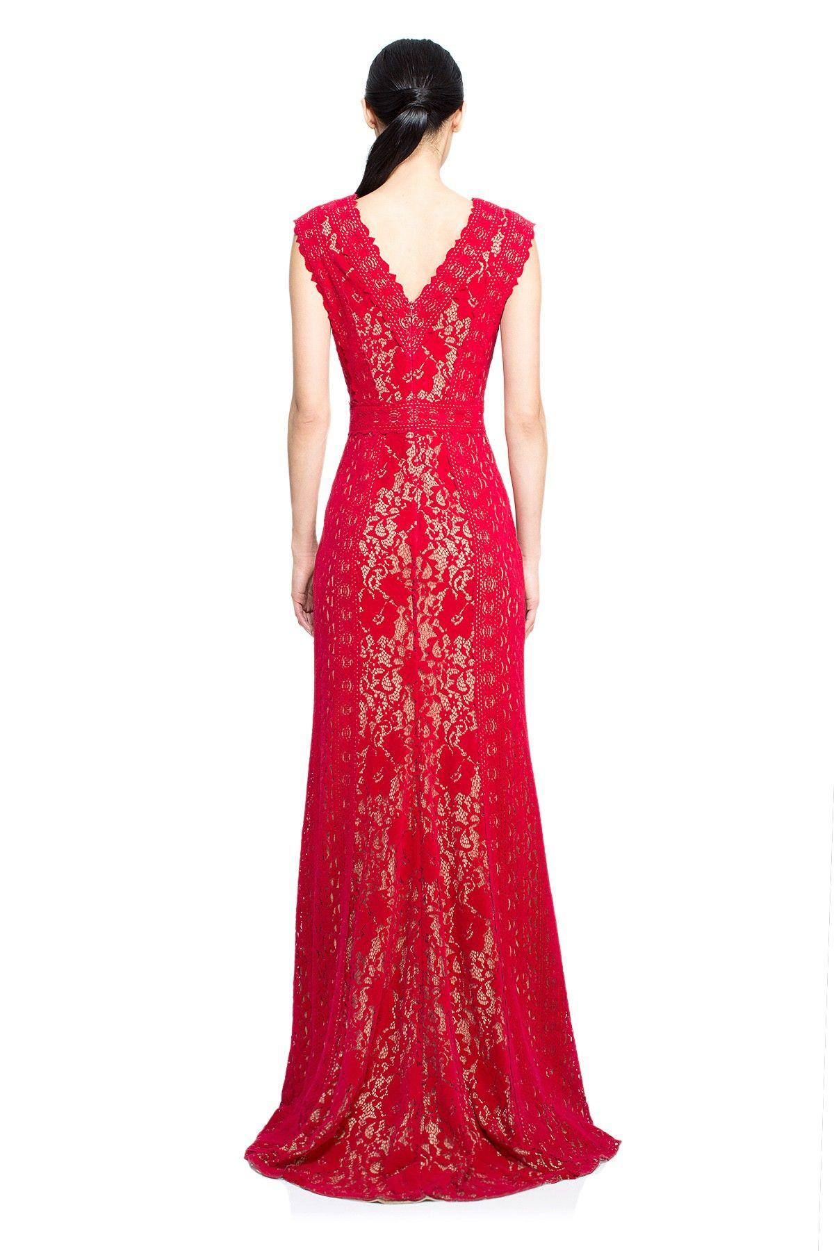 Tadashi shoji malene gown long dresses pinterest gowns