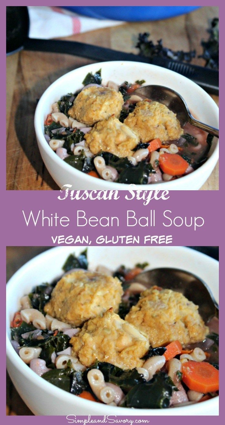 Tuscan style vegetable soup with white bean balls recipe gluten tuscan style vegetable soup with white bean balls real food recipessoup recipesdrink recipesvegetarian forumfinder Gallery