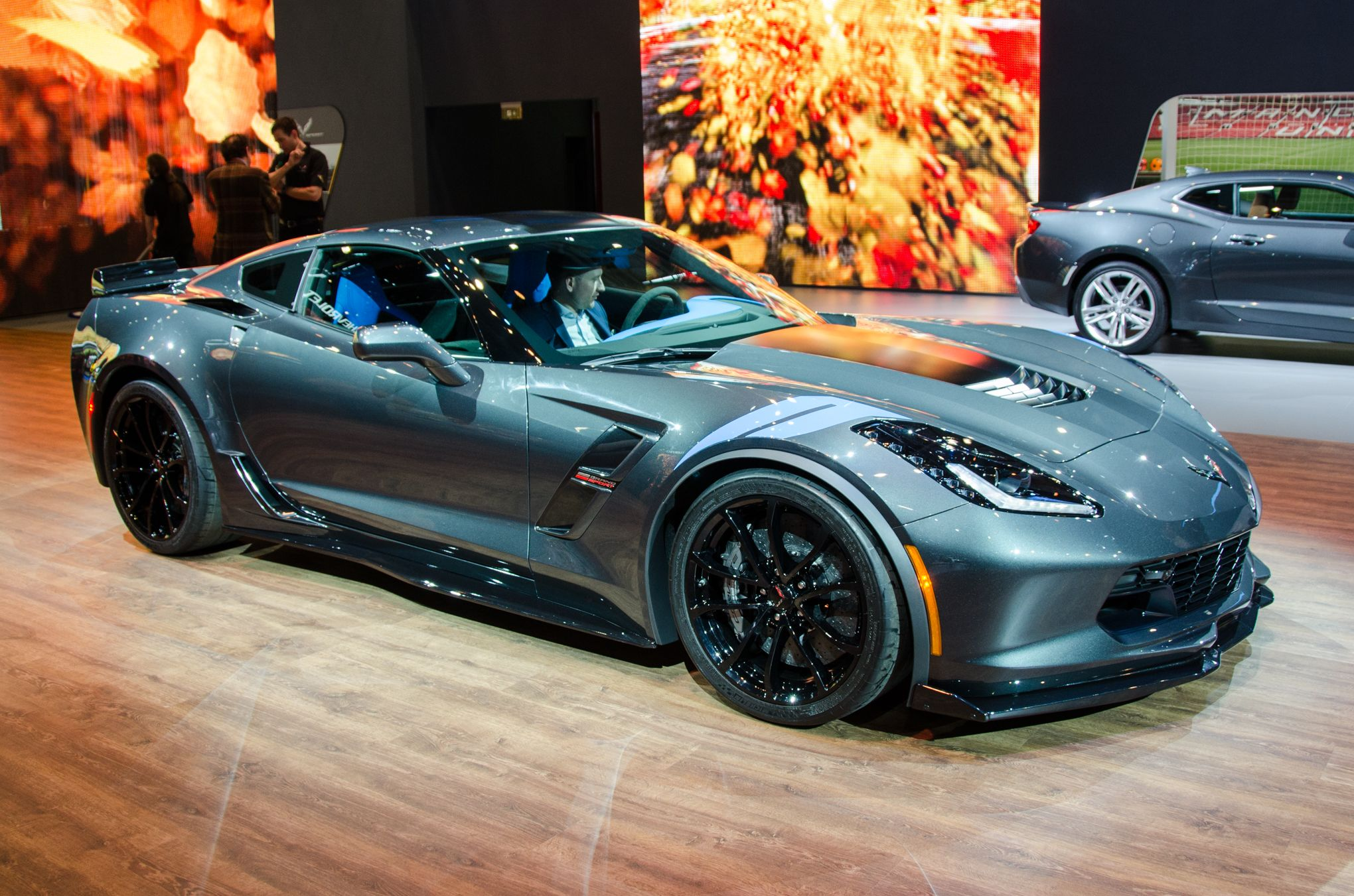 a new chevrolet corvette variant was revealed at the 2016. Black Bedroom Furniture Sets. Home Design Ideas