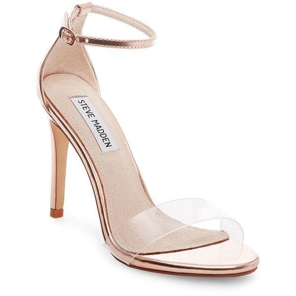 e7f4e50b4e2 Steve Madden Women's Stecy Stiletto Dress Sandals ($79) ❤ liked on ...