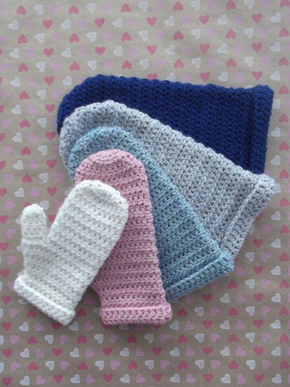 Haakpatroon Mighty Mittens Wanten Handschoenen Door Mevrouwdereuver
