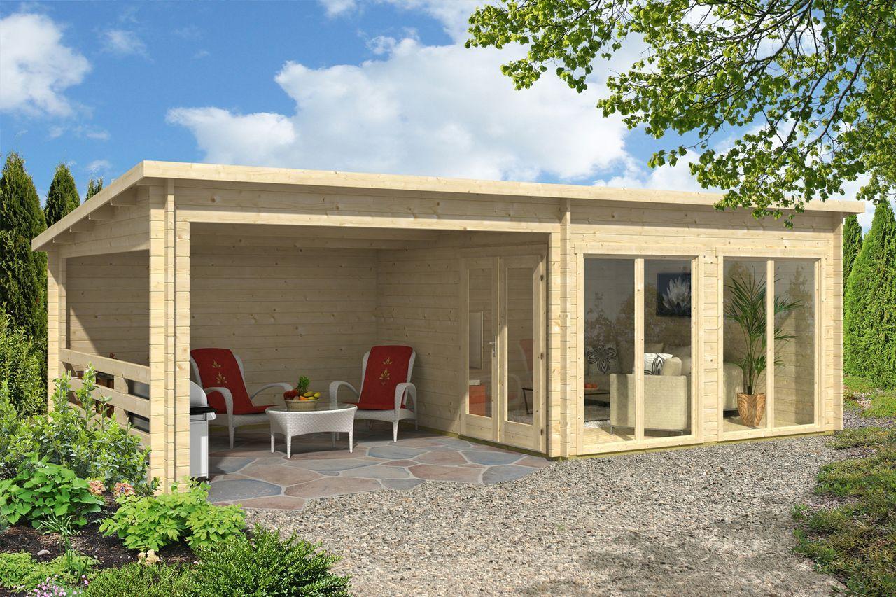 Carlsson Gartenhaus Island Iso Flachdach Gartenhaus Gartenhaus Design Gartenhaus