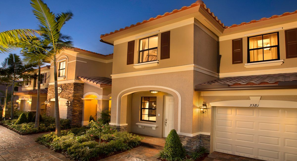 Lennar Homes in Florida Casas, Arquitetura, Condominio