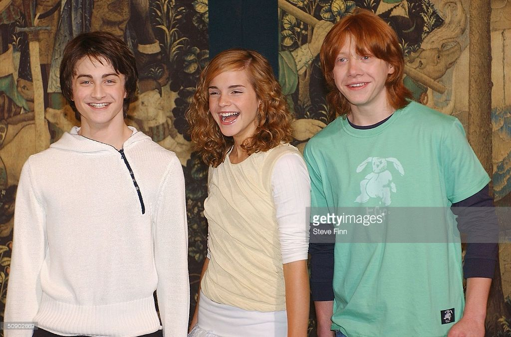 Harry Potter And The Prisoner Of Azkaban Photocall Photos And Premium High Res Pictures Harry Potter Actors Harry Potter Cast Harry Potter Hermione