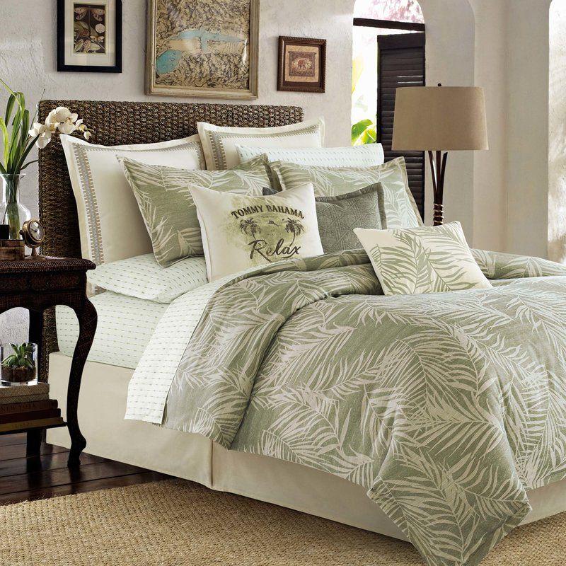 299 wayfair palms away 4 piece comforter set by tommy