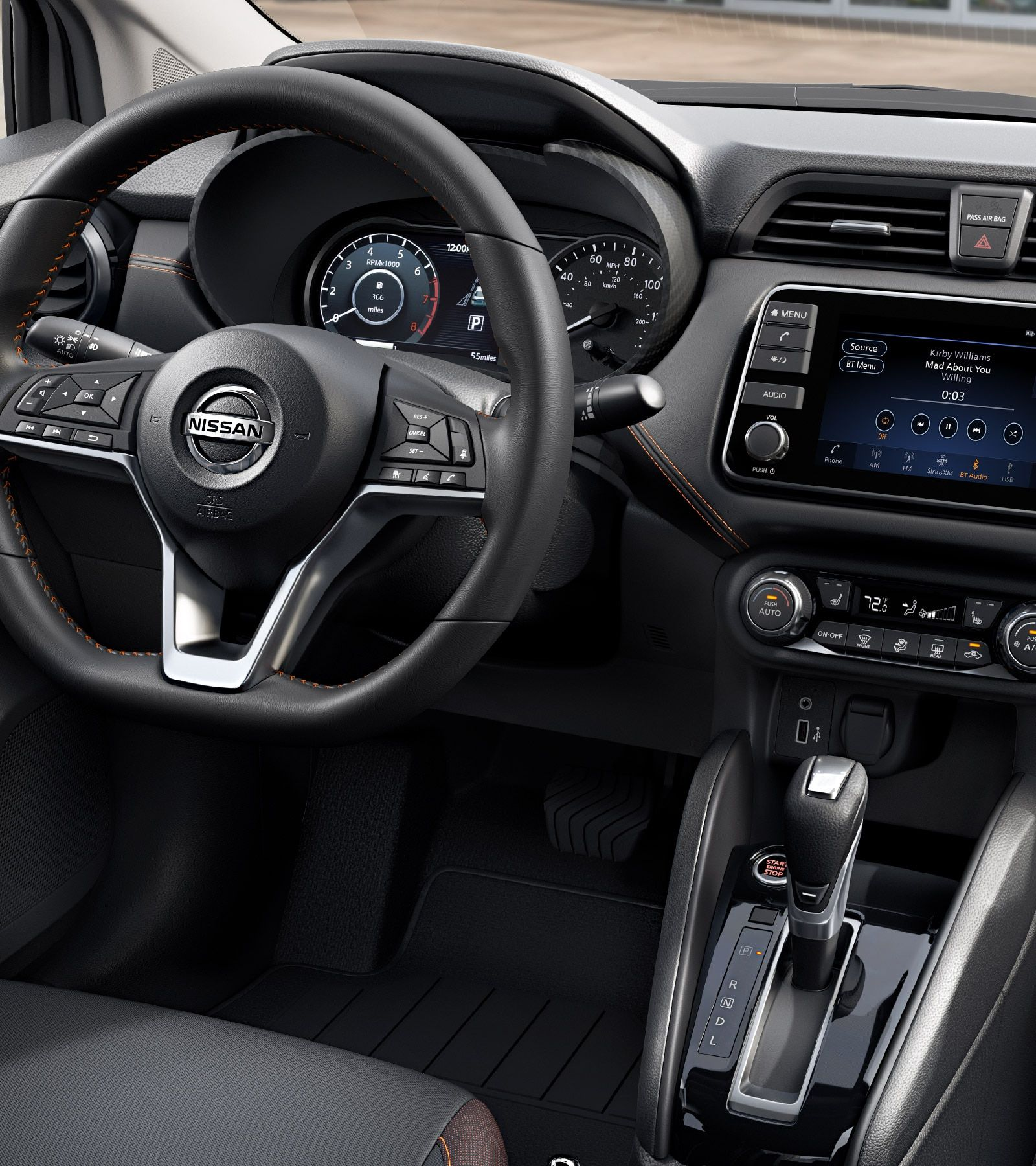 The Best 2020 Nissan Versa Interior And Pics Di 2020