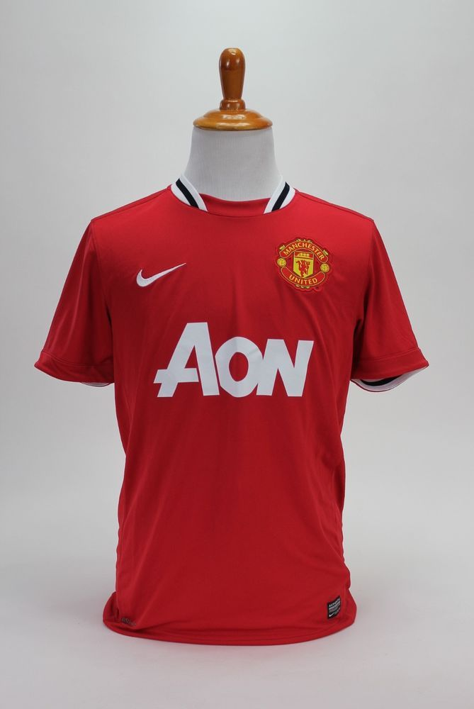 892f5659295 Nike Dri-Fit Manchester United Short Sleeve Soccer Jersey Futbol Mens  Medium  Nike  ManchesterUnited