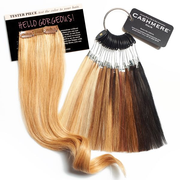 Color Matching | Hair Extensions | Pinterest | Cashmere hair, Hair ...
