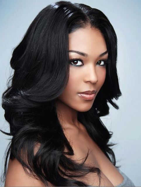 Long hairstyles for black women with layer elegant graduation black hair long hairstyles urmus Choice Image