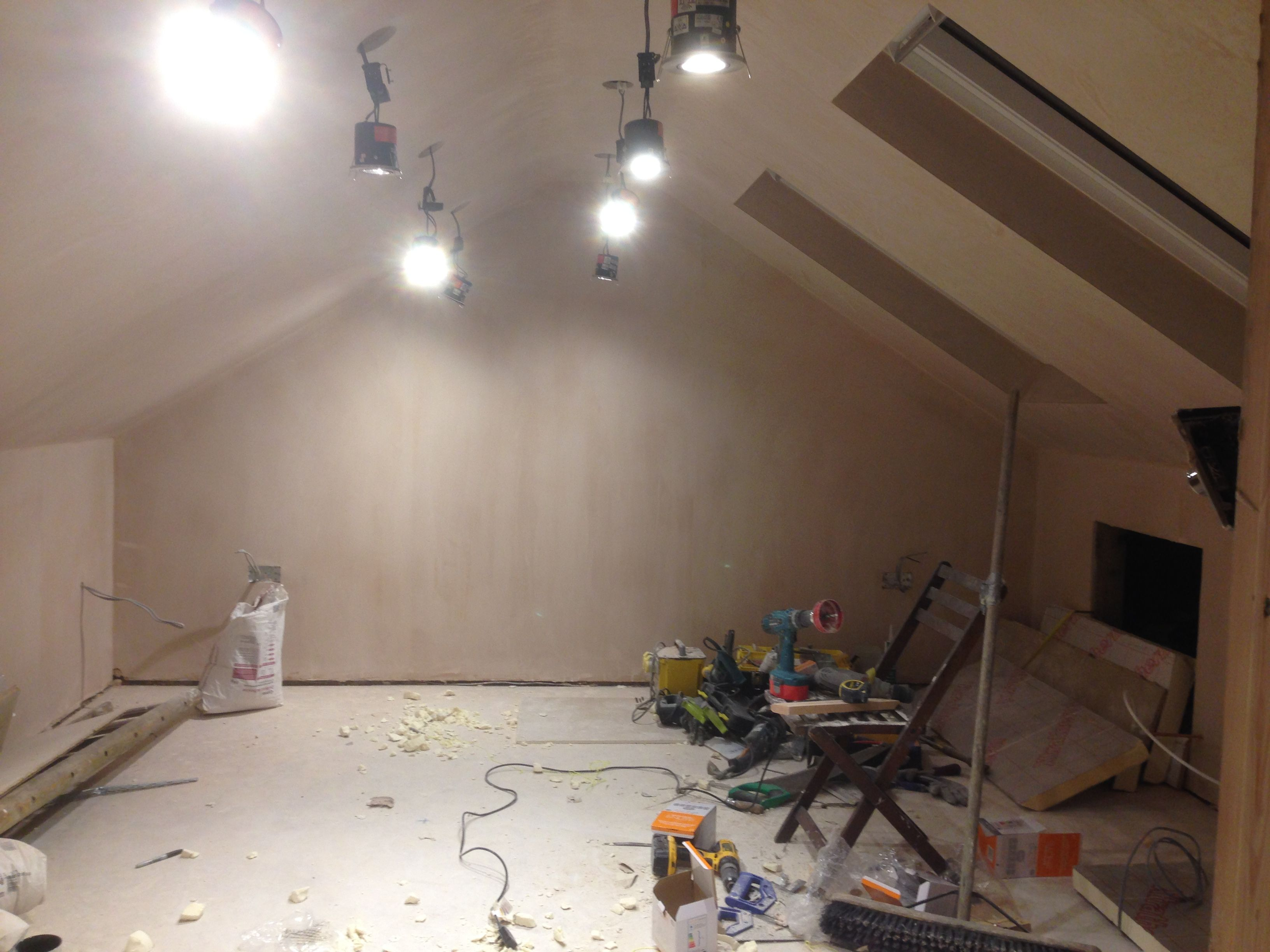 Loft Conversion Downlighting Lightings Ceiling Lights