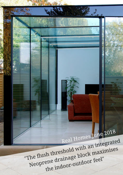 Drax Avenue Project Was Featured In Real Homes June 2018 This Discusses Various Glazing Options And How To Choose The Right Op Project Drax Avenue Kitch