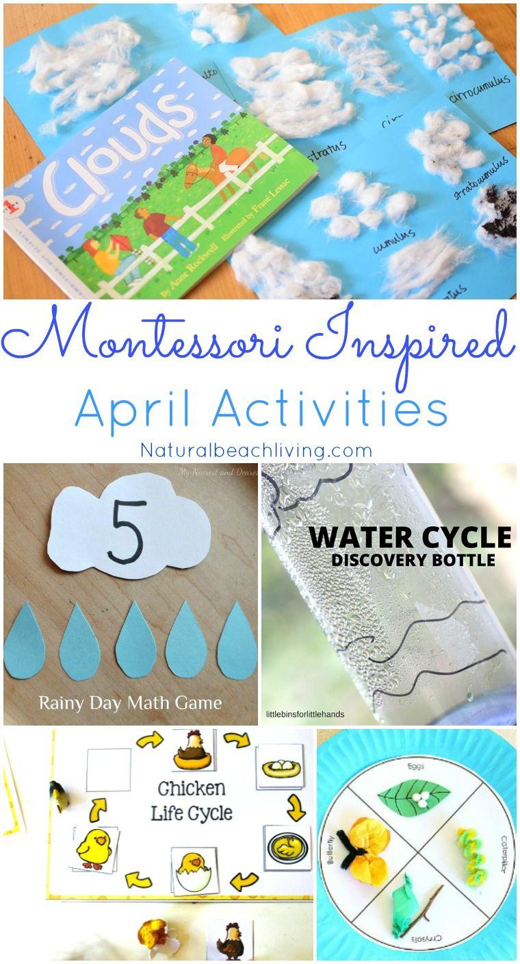 Montessori Themes Preschool Activities for April