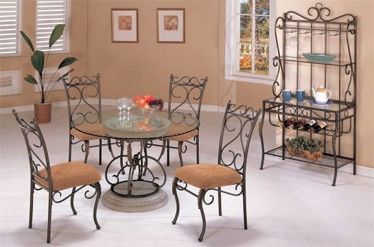 Wrought Iron Dining Room Chairs Traditional Dining Rooms Iron Furniture Design Dining Decor