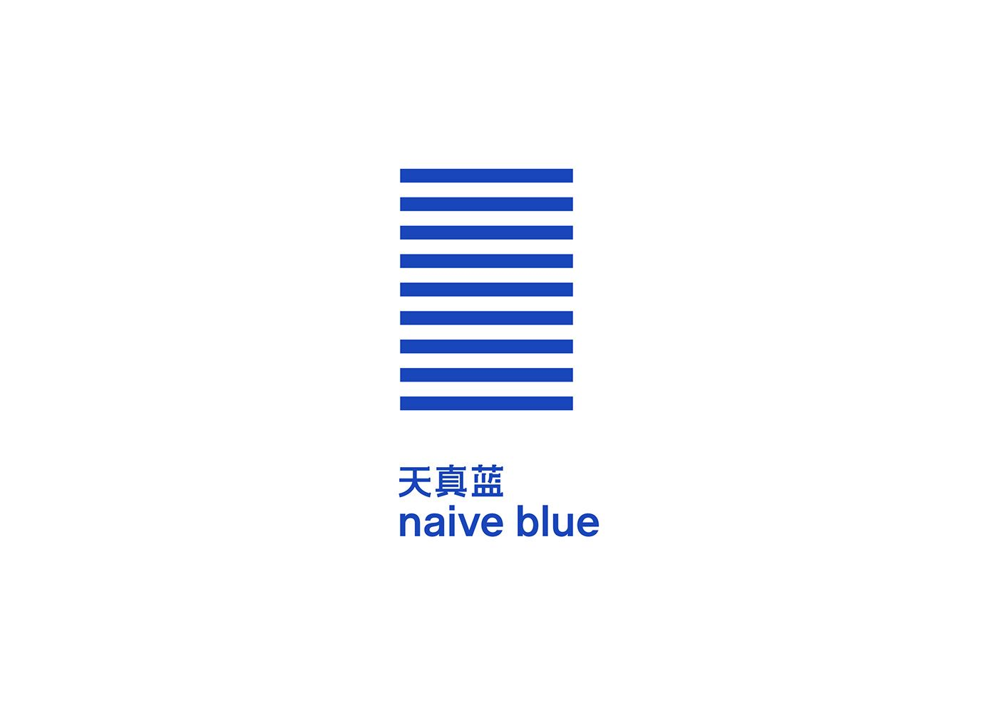 Naive Blue Visual Identity System on Behance