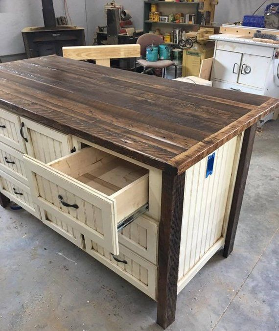 Kitchen Island With Storage Kitchen Islands With Seating Rustic