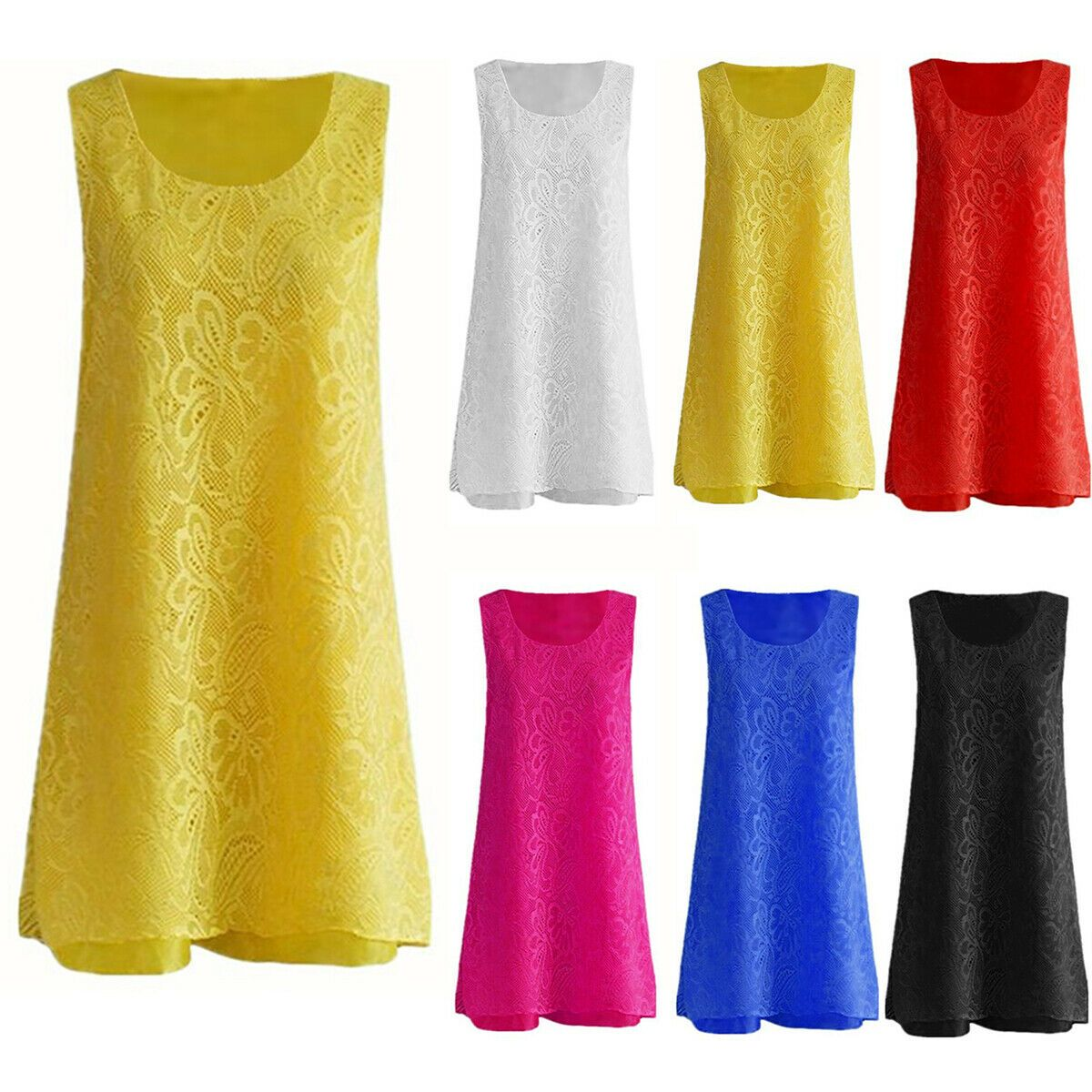 By Alina Damenkleid Longshirt Tunika Minikleid Hemdblusenkleid Longbluse  XS-M