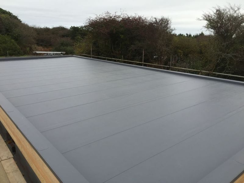 Single Ply Roofing Cornwall Pellow Flat Roofing Ltd Single Ply Roofing Roofing Flat Roof