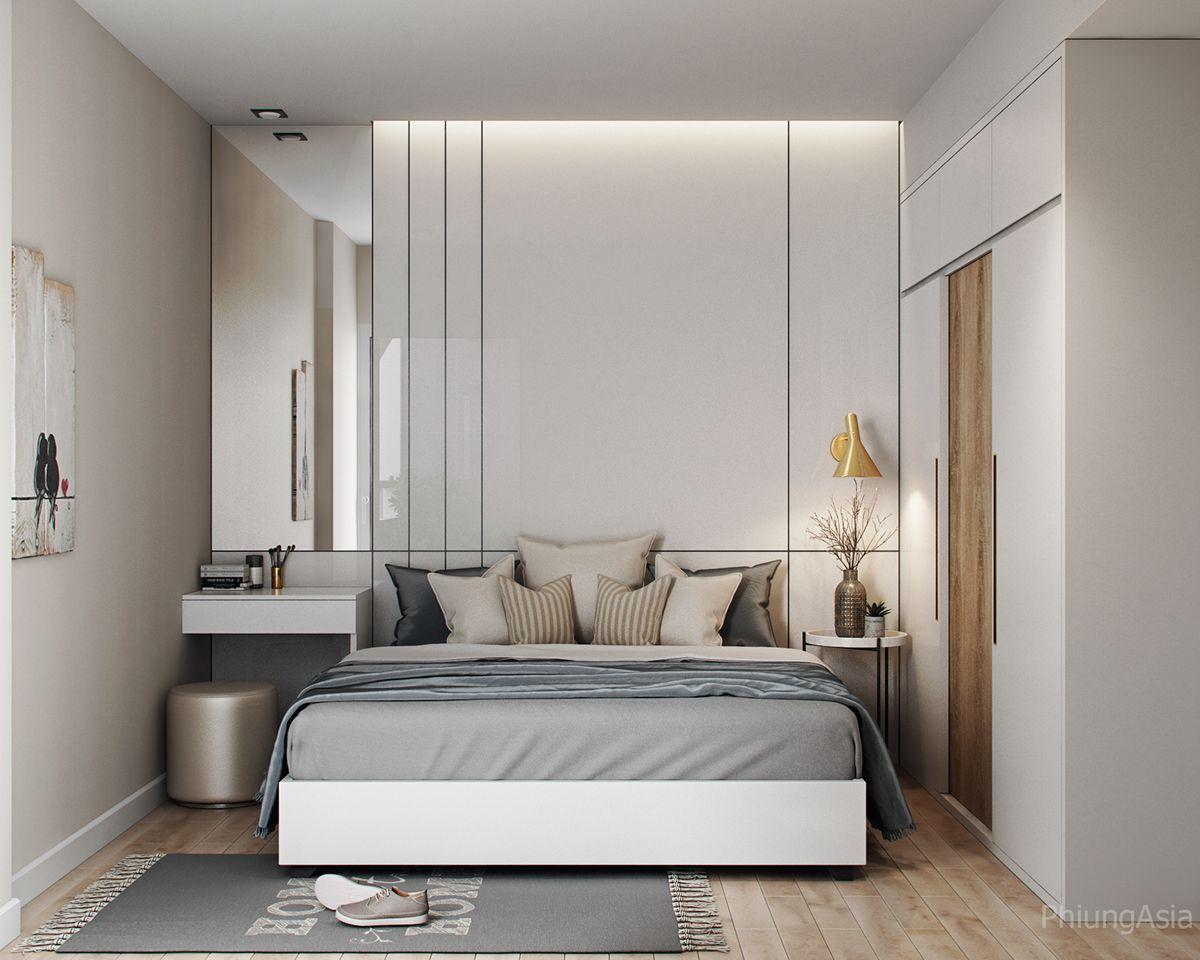 60m2 Apartment 1 Bedroom On Behance Dormitorios Diseno Interior De Dormitorio Diseno De Armario Para Dormitorio One bedroom modern design