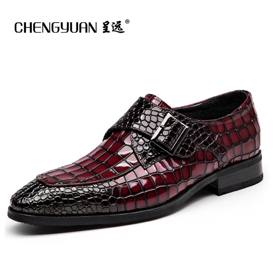 know more mens bullock genuine wine red leather shoes