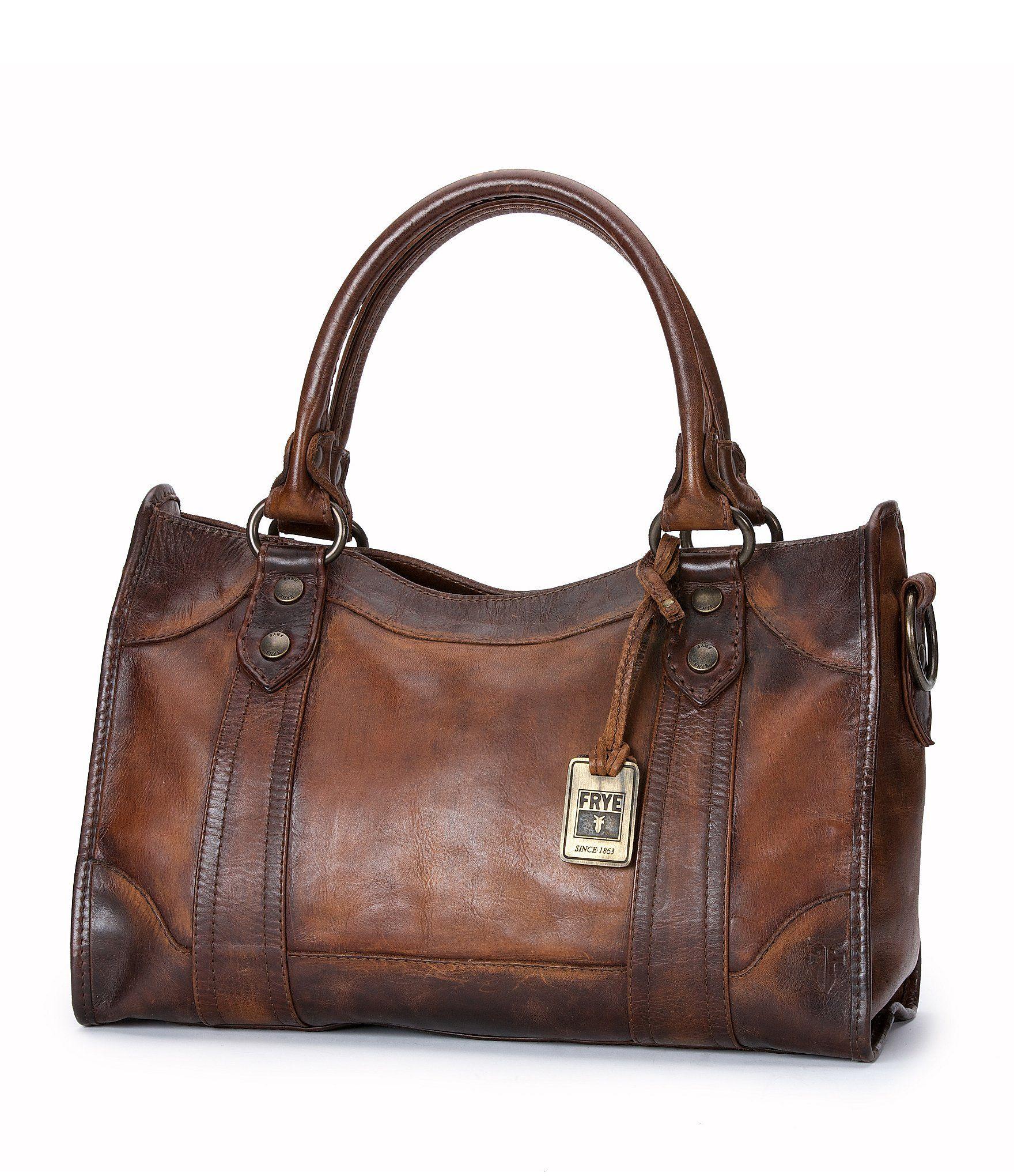 ce64f7095b3 Frye Melissa Washed Leather Satchel