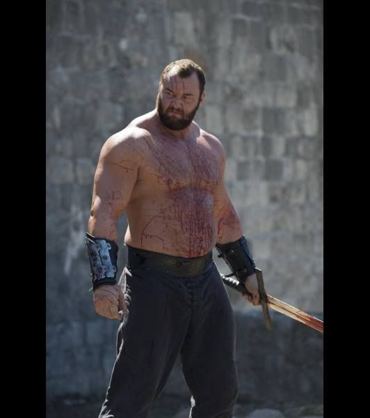 The Mountain Gregor Clegane Hafbor Julius Bjornsson In