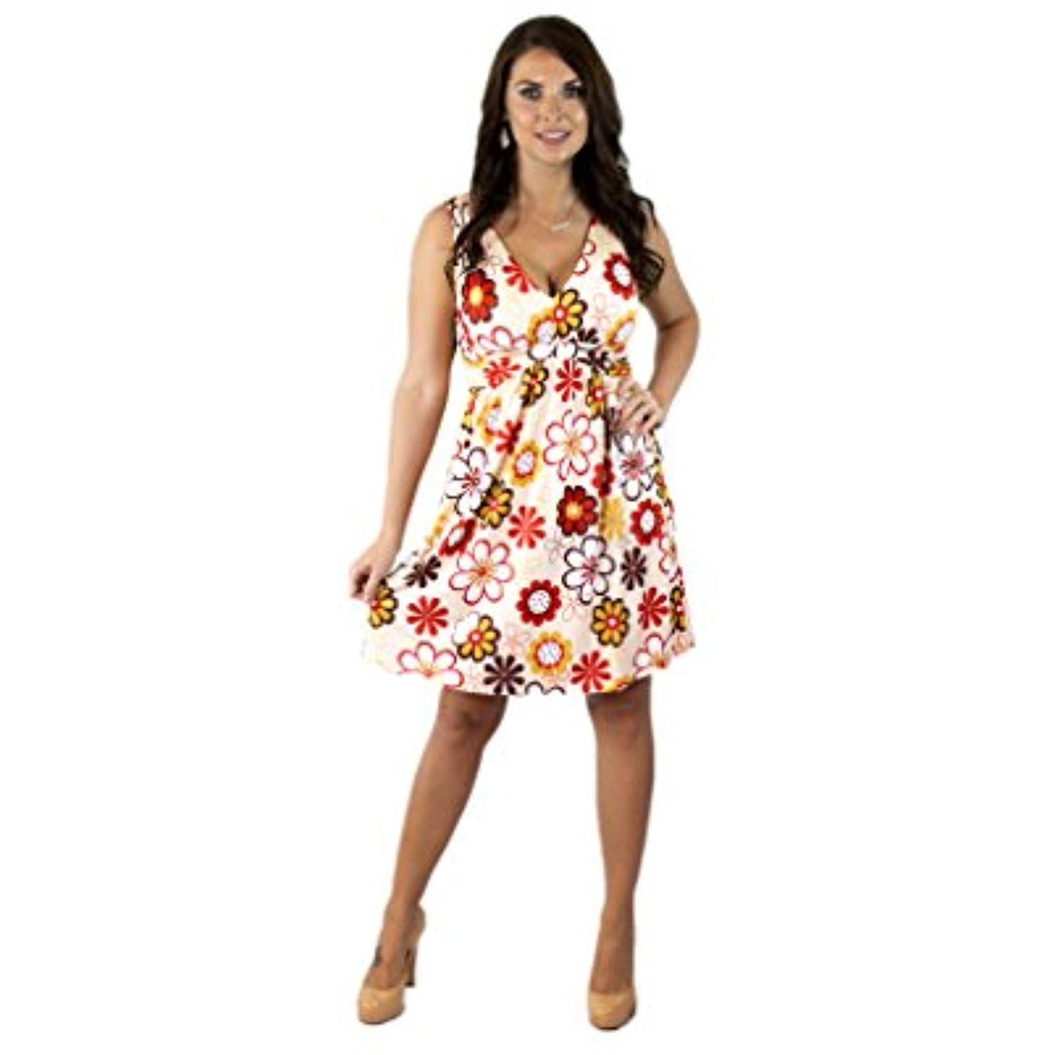 Women S Sleeveless Summer Sun Dress Want To Know More Click On The Image This Is An Affiliate Link Clothing Summer Dresses Clothes Sundress [ 1500 x 1500 Pixel ]