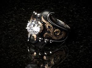 LR84 Designer Bob Berg Texas western rodeo cowboy jewelry