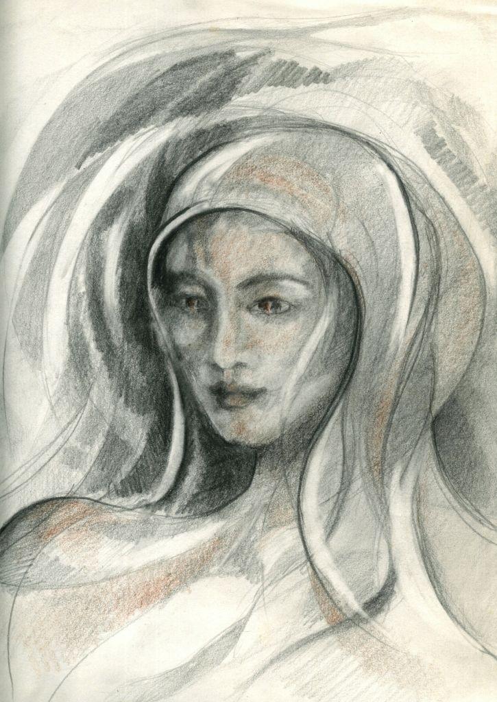 Obra en lápiz, qué inspiró uno de los diseños de Salve