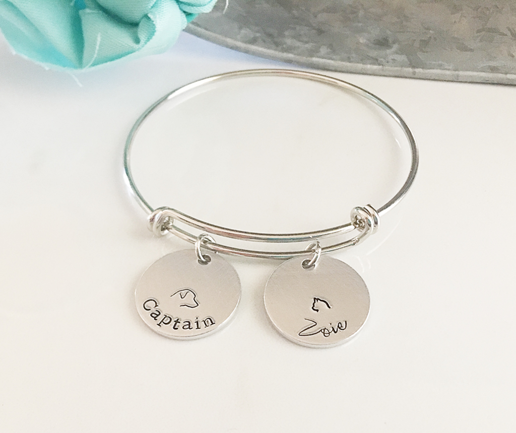 Personalized Pet Name Bracelet (With Images