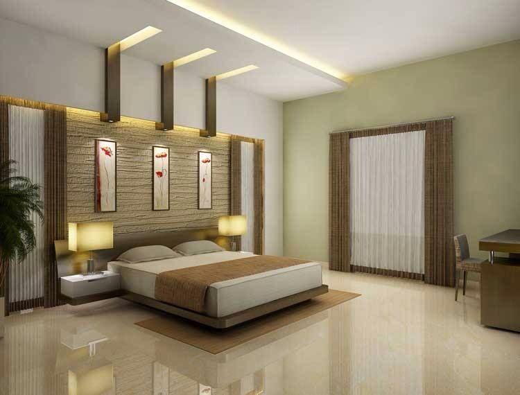 Recámara moderna | Ceiling design bedroom, Bedroom false ...