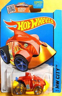 2015 Hot Wheels Treasure Hunt Piranha Terror